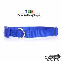 ‪#‎MakeinINDIA‬ ‪#‎GoradiaIndustries‬ ‪#‎Tapeswebbingstraps‬ Blue dog collar only at Rs.300 in extra small size. Go to the following link to buy this product. http://tapeswebbingstraps.in/shop/dog-collars/dog-collars-7/ For more details click on the below link or call us on +9833884973/9323558399 http://tapeswebbingstraps.in/product-category/dog-collars/