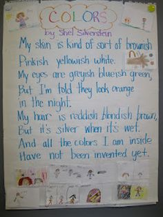 Using poetry as mentor texts for visualization/ mental images.