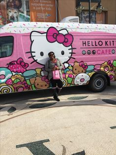 Made it to the Hello Kitty Café Truck!  BlackGirlsAreKawaii Kitty Cafe b500dcc4ebd6b