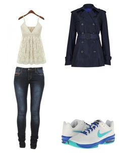 """""""a normal day"""" by reaper18 ❤ liked on Polyvore featuring Winser London, NIKE, women's clothing, women, female, woman, misses and juniors"""