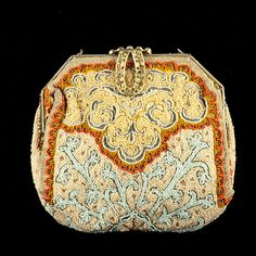 Vintage Longchamps Beaded Handbag. (3/29/2012 - Fine Jewelry and Timepieces)
