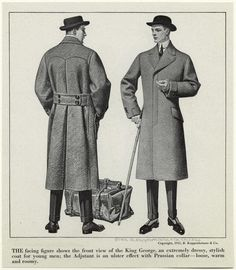 Dressy coats for young men, 1912