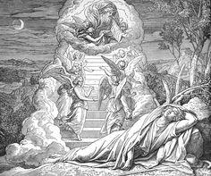 Bilder der Bibel - Jakobs Traum - Julius Schnorr von Carolsfeld