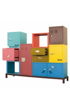 Stackable cabinets
