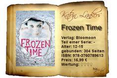 """Mit """"Frozen Time"""" konnte mich Katrin Lankers überzeugen. Dieser Einzelband beinhaltet eine Science-Fiction-mäßiges Setting, das fundiert durchdacht ist, interessante Charaktere und einen rasanten Story mit einem visionären und sogleich schockierenden Verstehen von Gesundheit."""