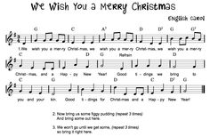 Beth's Music Notes: We Wish You a Merry Christmas