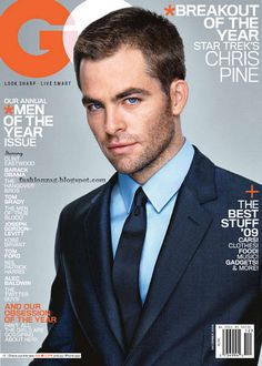 Chris Pine. I enjoy this man ;) super hunk someday i will meet him!
