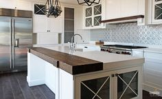 Image result for stone and timber bench tops