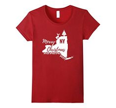 Merry Christmas New York NY T-Shirt- Available in Men's, Women's, and Youth!