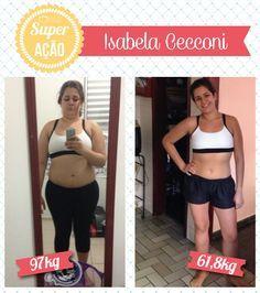 Superação Isabela Cecconi - Blog da Mimis - Mulher perde 35Kg em 8 meses conciliando praticidade e saúde.