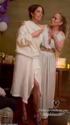 Jennifer Lopez celebrates her sister Lynda Lopez's birthday without her beau Ben Affleck | Daily Mail Online