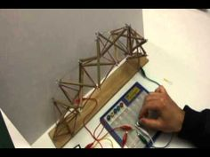 Kinetic Tensegrity Structure Study 3 by potentiometer