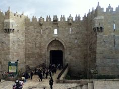 King David's castle in Jerusalem