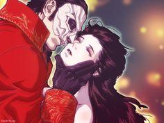 マスクの所為でキスできない罠w