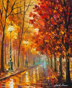 Sweet Fall, Leonid Afremov