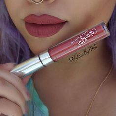 Colourpop cosmetics (Bumble) liquid lipstick @KortenStEiN