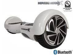 HoverboardX HBX-2 White UL 2272 Certified with Bluetooth
