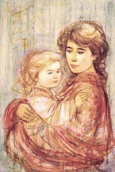 Cora & Linda by Edna Hibel