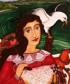 RENDEIRA   Vera Sabino 1949 Pintora Brasileña