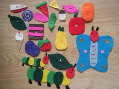 Eric Carle's The Very Hungry Caterpillar Felt board