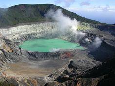 Rare Volcanic Activity at Poas Volcano