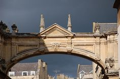 Dark skies over Bath