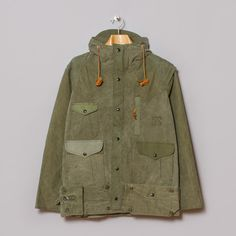 Monitaly Mountain Parka in US Army Tent Fabric