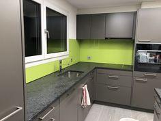 ESG Weissglas 6mm (Farbton,Apfelgrün) Kitchen Cabinets, Home Decor, Decoration Home, Room Decor, Cabinets, Home Interior Design, Dressers, Home Decoration, Kitchen Cupboards