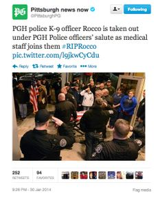Community Post: This Video Of Police Officers Honoring A Fallen K-9 Officer Will Melt Your Heart