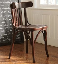 Thonet chair - Having the same as inheritance from my great-grandmother. Beautiful simplicity on its own :).