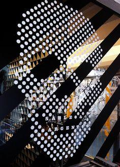 dot pattern skull