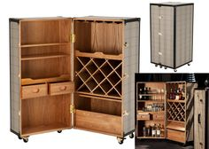 Cocktail Drinks Cabinet – Luxury trunk style drinks cabinet from Eichholtz. This elegant piece has a classic check upholstery with a contrasting black trim, handles and polished brass clasp fasteners and corner protection. Truly a statement pice and so stunningly made. NOW IN STOCK. We have MANY COCKTAIL DRINKS cabinets available.