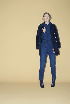 How nice is this denim jumpsuit?!! #NEED Band of Outsiders, pre-fall 2014