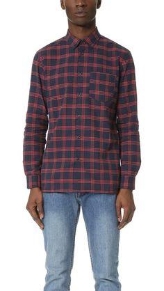 A.P.C. Flannel Shirt