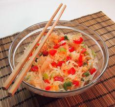 Hapankaali kimchi, hiukan tulinen / Sauerkraut kimchi, slightly hot Kimchi, Root Vegetables, Sauerkraut, Side Dishes, Potatoes, Tableware, Hot, Dinnerware, Potato