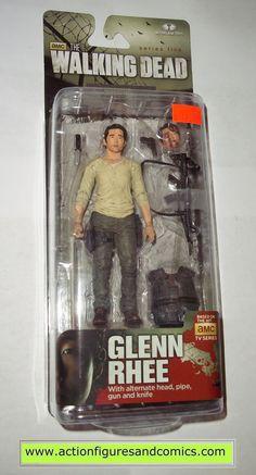 The Walking Dead GLENN RHEE series 5 tv mcfarlane toys action figures