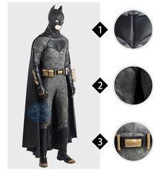 Professional Justice League Batman Cosplay Costume Batman Cosplay Costume, Anime Costumes, Movie Costumes, Cosplay Costumes, Lolita Dress, Cloak, Justice League, Costume Design, Superhero