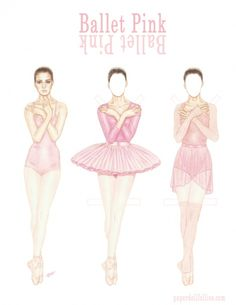 ballet-pink* 1500 free paper dolls at artist Arielle Gabriel's International Paper Doll Society also her new memoir The Goddess of Mercy & the Dept of Miracles playing with paper dolls in Montreal *