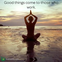 Good things come to those who work. OH YES!!!!!!  #FitnessFriday #BestLife #inspiration #quote #soulcommunicator