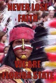 Never lose faith. We are Florida State! Florida State Football, College Football Teams, Florida State University, Florida State Seminoles, Football Stuff, Seminole Football, Football Football, Oklahoma Sooners, Football Season