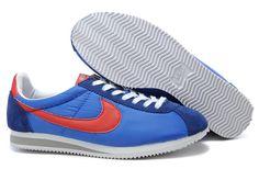 cheap for discount 0f915 daf6d Magasin d Usine Nike Cortez Nylon Vintage Pour Homme Chaussures Bleu Marine  Rouge Blanc Gris en Ligne