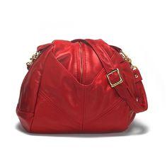 Victoria Leather Teardrop Bag