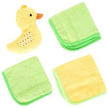 Babies R Us 3-Pack Washcloth and Toy Set - Duck (Purchased: 1 of 1)