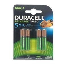 En ucuz fiyatı ile duracell recharge turbo AAA şarjlı ince kalem pil ürününü satın almadan önce https://vivago.com.tr/duracell-turbo-sarj-edilebilir-aaa-ince-kalem-pil-850-mah-4-lu sayfasını mutlaka ziyaret etmelisiniz