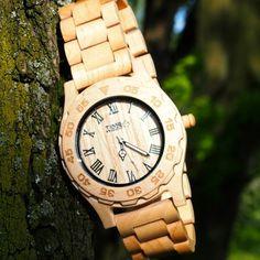 dřevěné hodinky Acrux od TimeWood