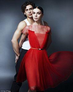 Natalia is pictured in 2012 with her ex-boyfriend and fellow ballet dancer, Ivan Vasiliev