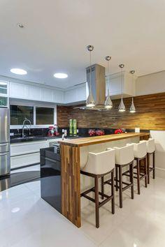 Tendência: cozinhas com armários de estilo clássico! Veja modelos e dicas de…