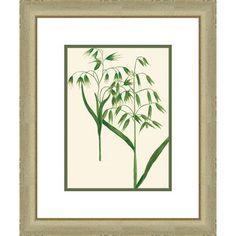 Melissa Van Hise Emerald Foliage lll Framed Graphic Art