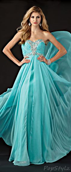 Alyce Designs Flowing Evening Gown