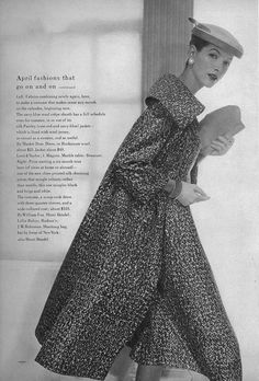 https://flic.kr/p/9bnE9B | April Vogue 1956